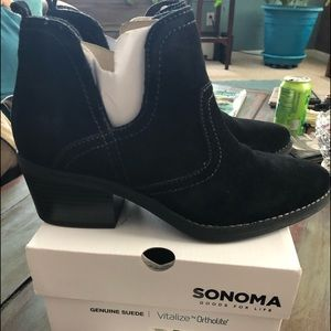 Booties, size 8